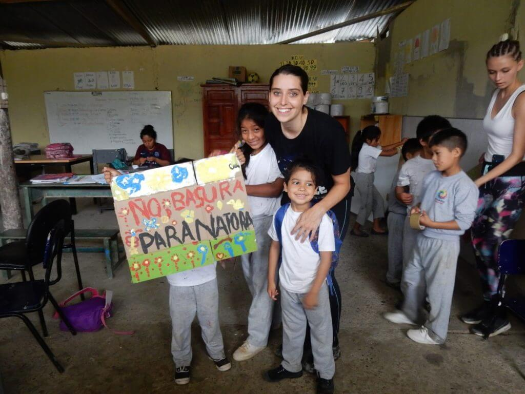 Volunteering in Ecuador