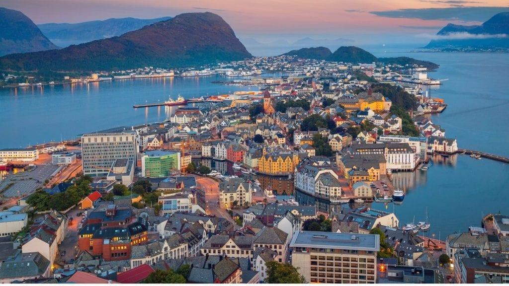 Visit Alesund in Norway