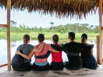 Team traveling to Amazon